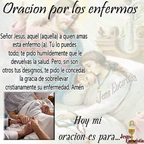 Oración Para Los Enfermos